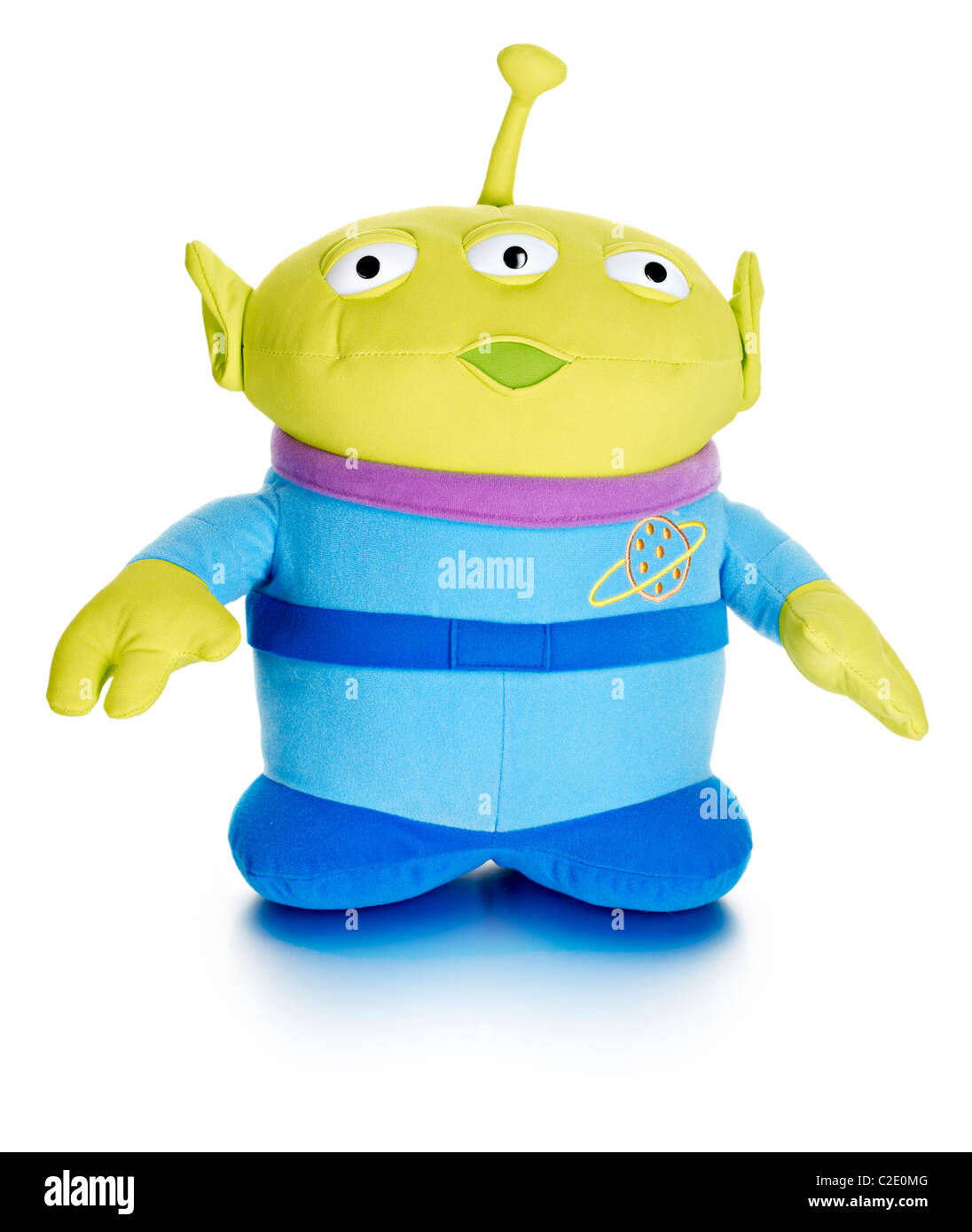 Alien toy story film soft toy - Stock Image