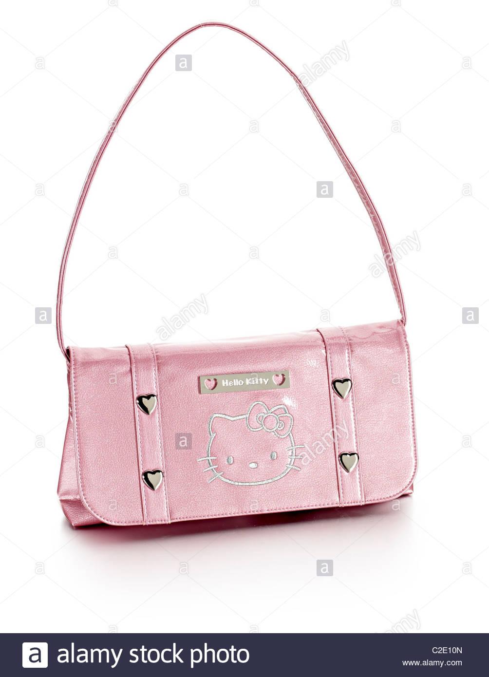 Hello Kitty shoulder bag - Stock Image