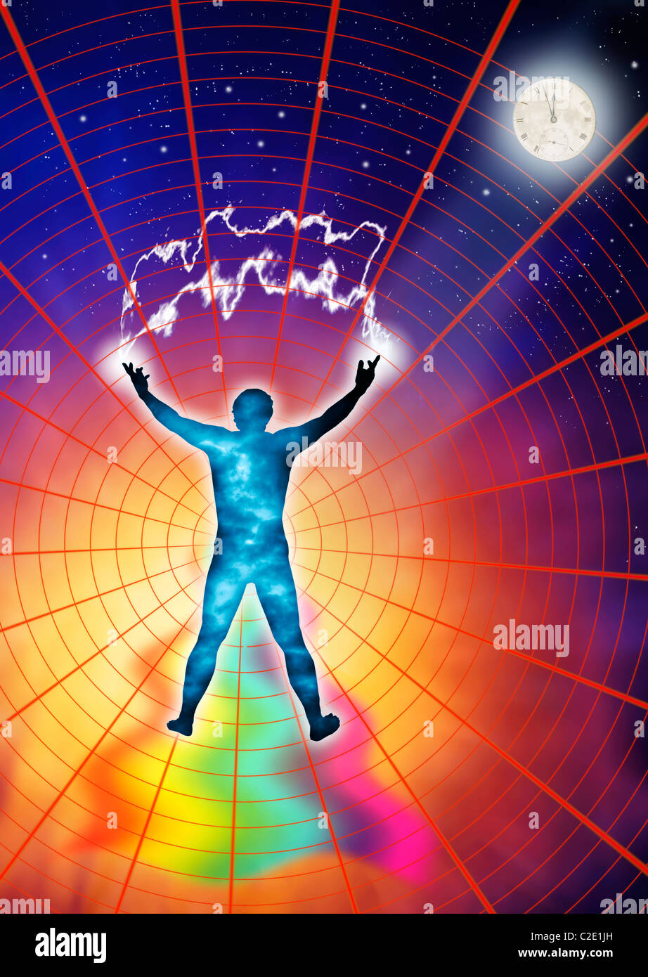 Concept to show health and wellbeing. - Stock Image