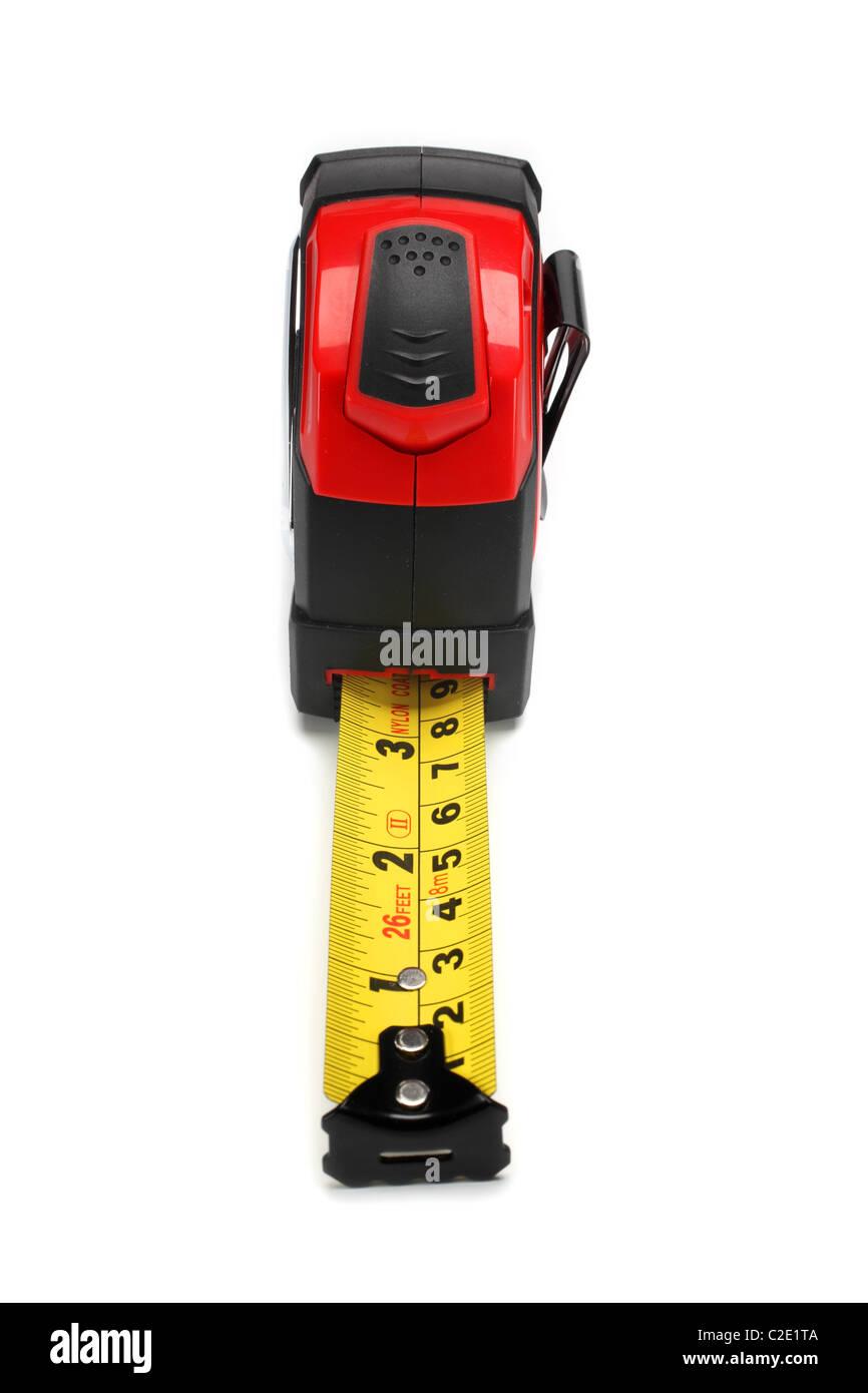ruler precision measure tool - Stock Image