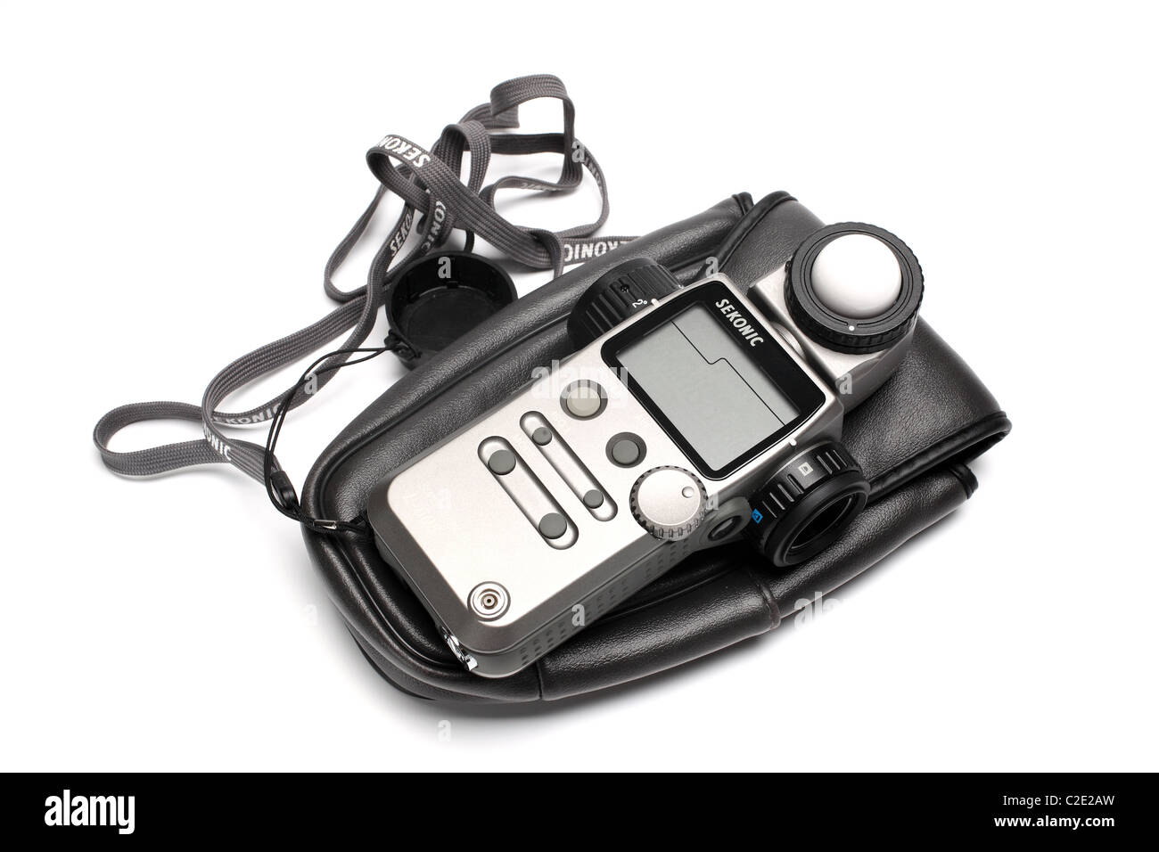 sekonic photo equipment light meter - Stock Image