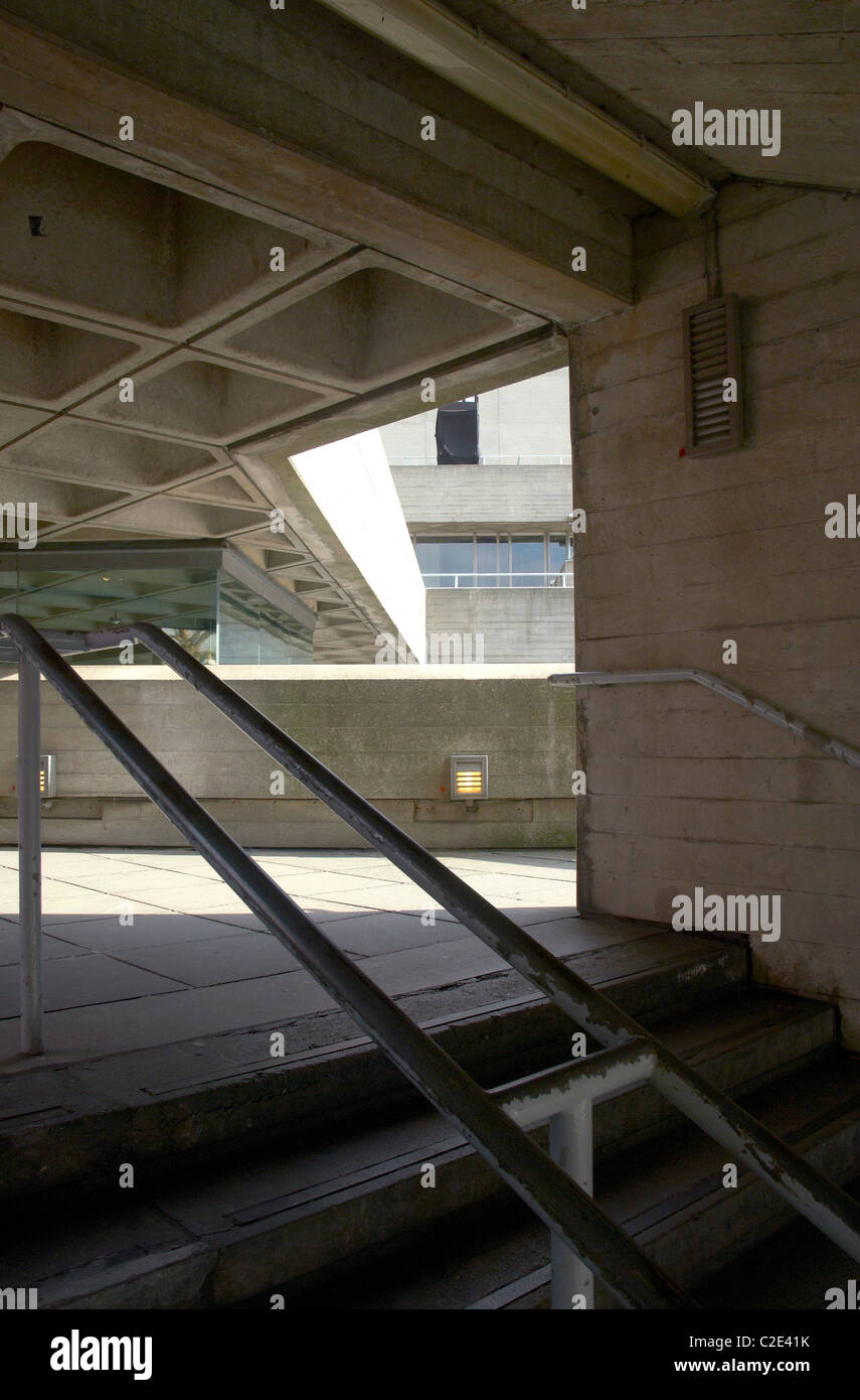National Theatre, London Southbank - Stock Image