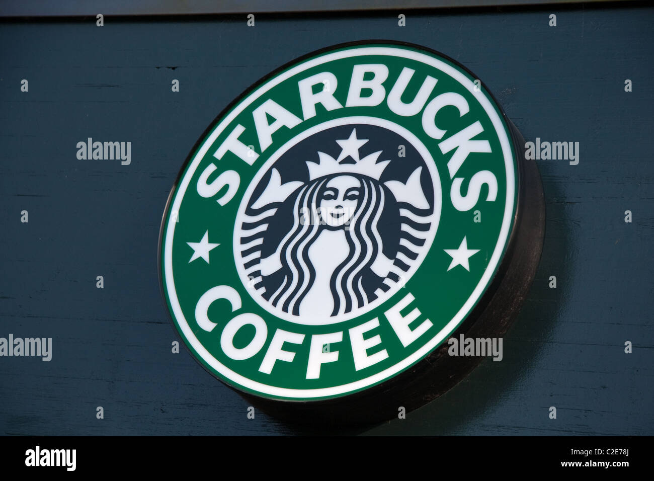 Sign Of Starbucks Stock Photos Sign Of Starbucks Stock Images Alamy