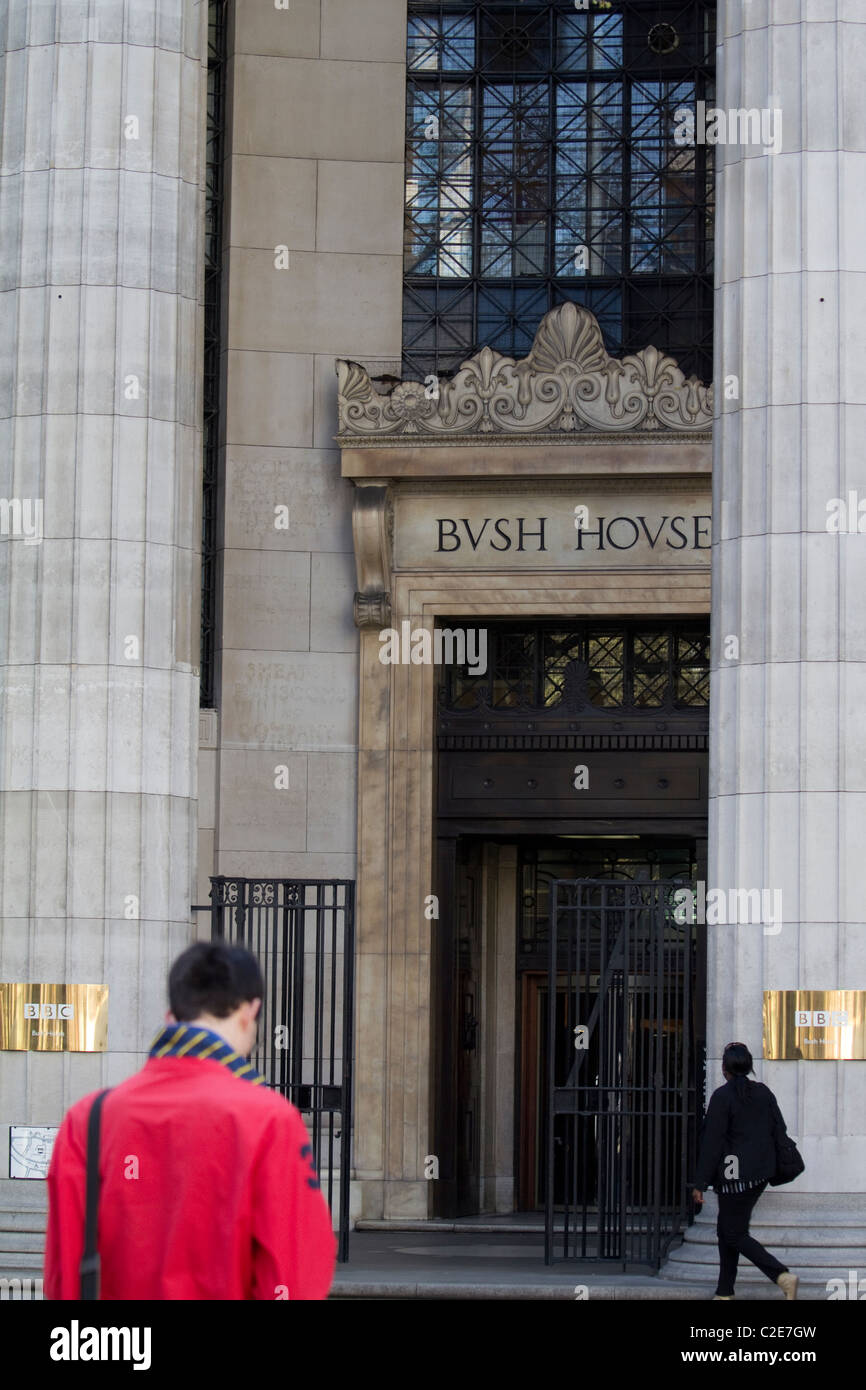 BBC Bush house London - Stock Image
