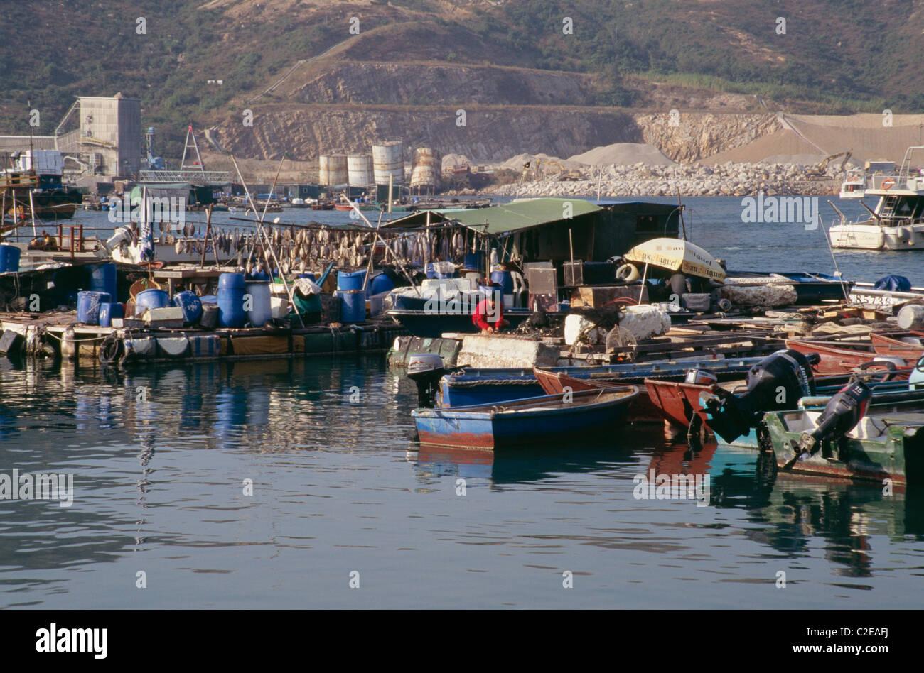 Sok Kwu Wan Lamma Island Hong Kong - Stock Image