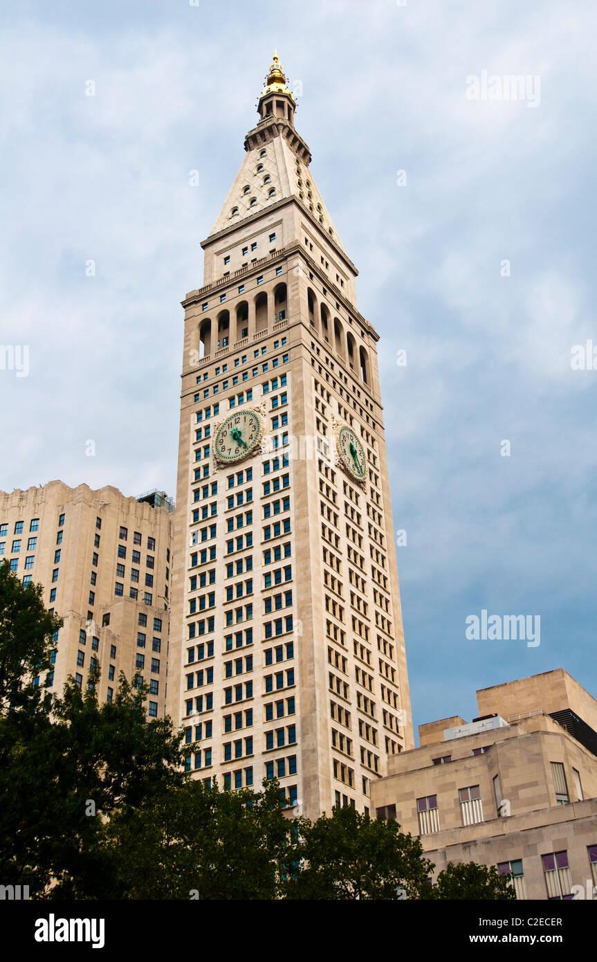 Metropolitan Life Insurance Company Building Or Met Life Tower Stock Photo Alamy