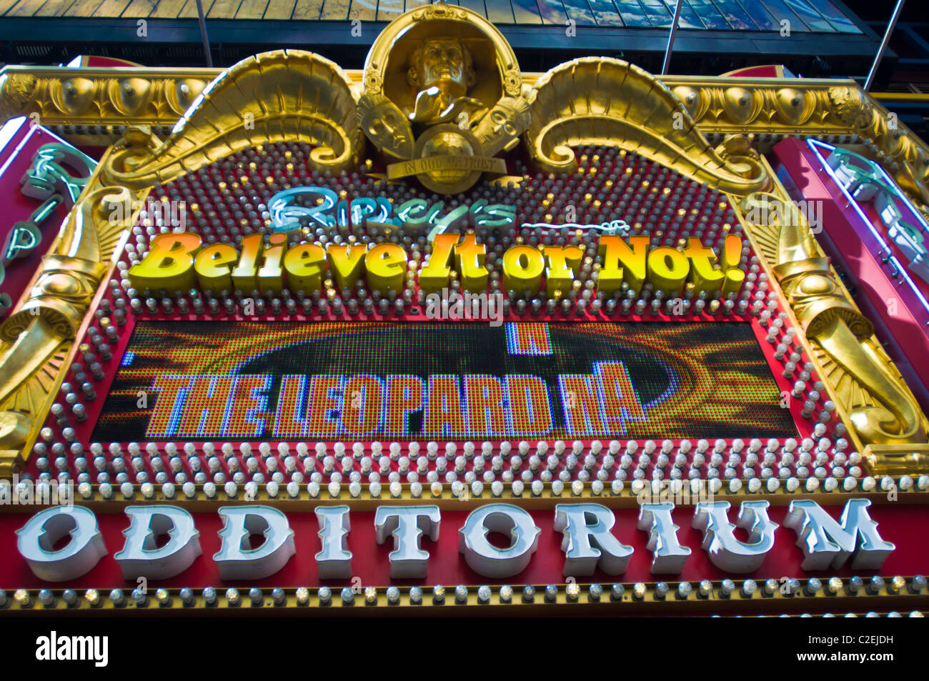 Ripley's Believe It or Not! Odditorium at 42nd Street, Manhattan, New York City, USA - Stock Image