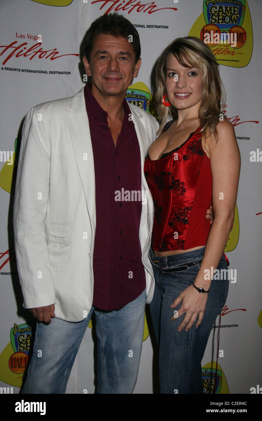 Adrian Zmed And Lyssa Baker At The American Game Show Hall Of Fame Ceremony