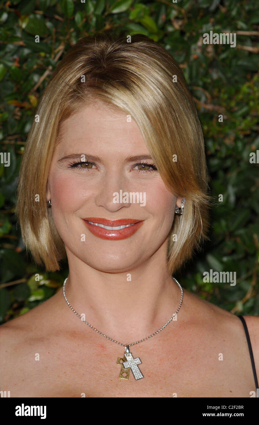 Kristy Swanson Spike TV presents the second annual 'Scream 2007' -- Arrivals Los Angeles, California - 19.10.07 - Stock Image