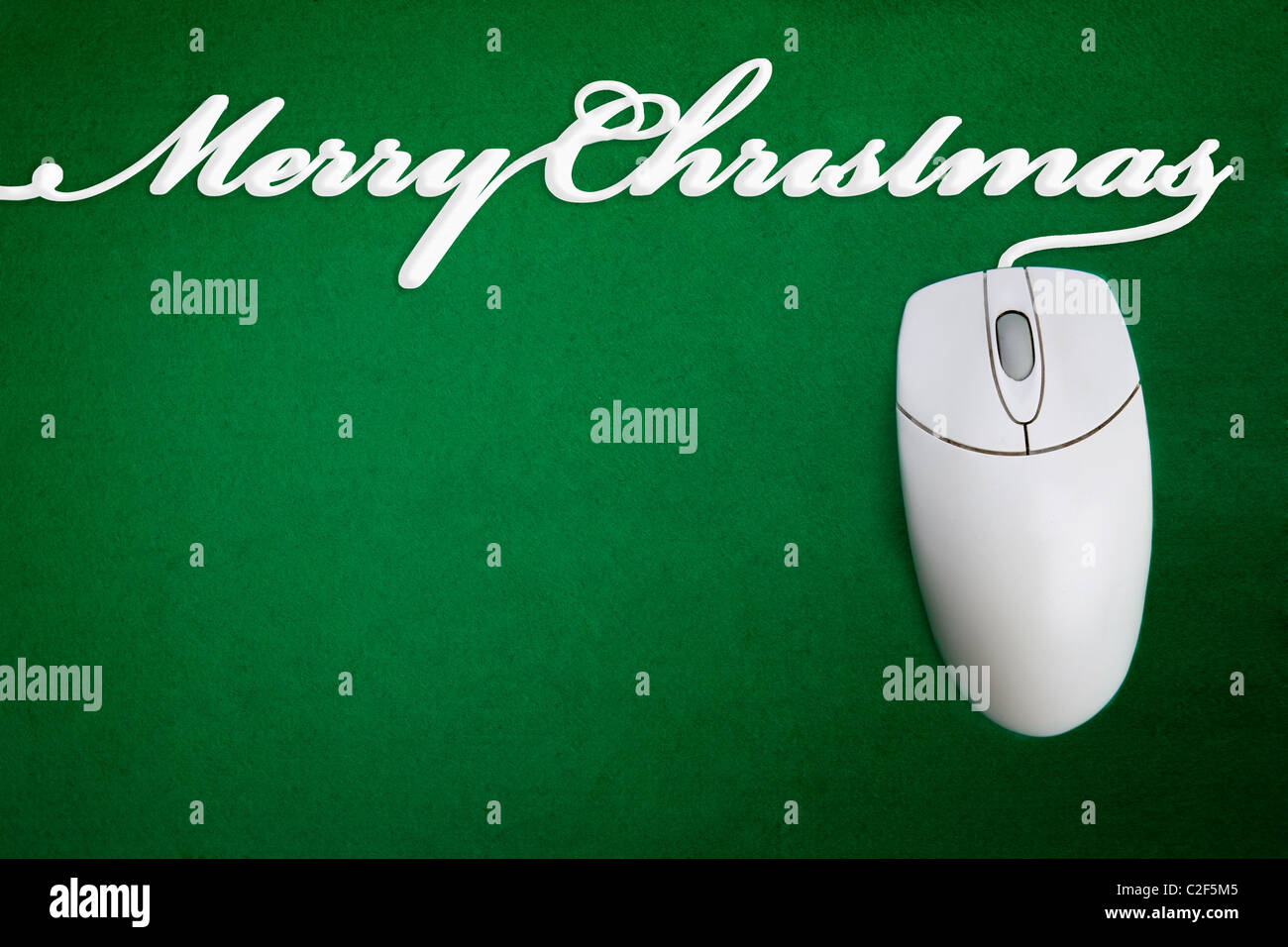Christmas greet stock photos christmas greet stock images alamy a mouse cord spelling merry christmas stock image m4hsunfo