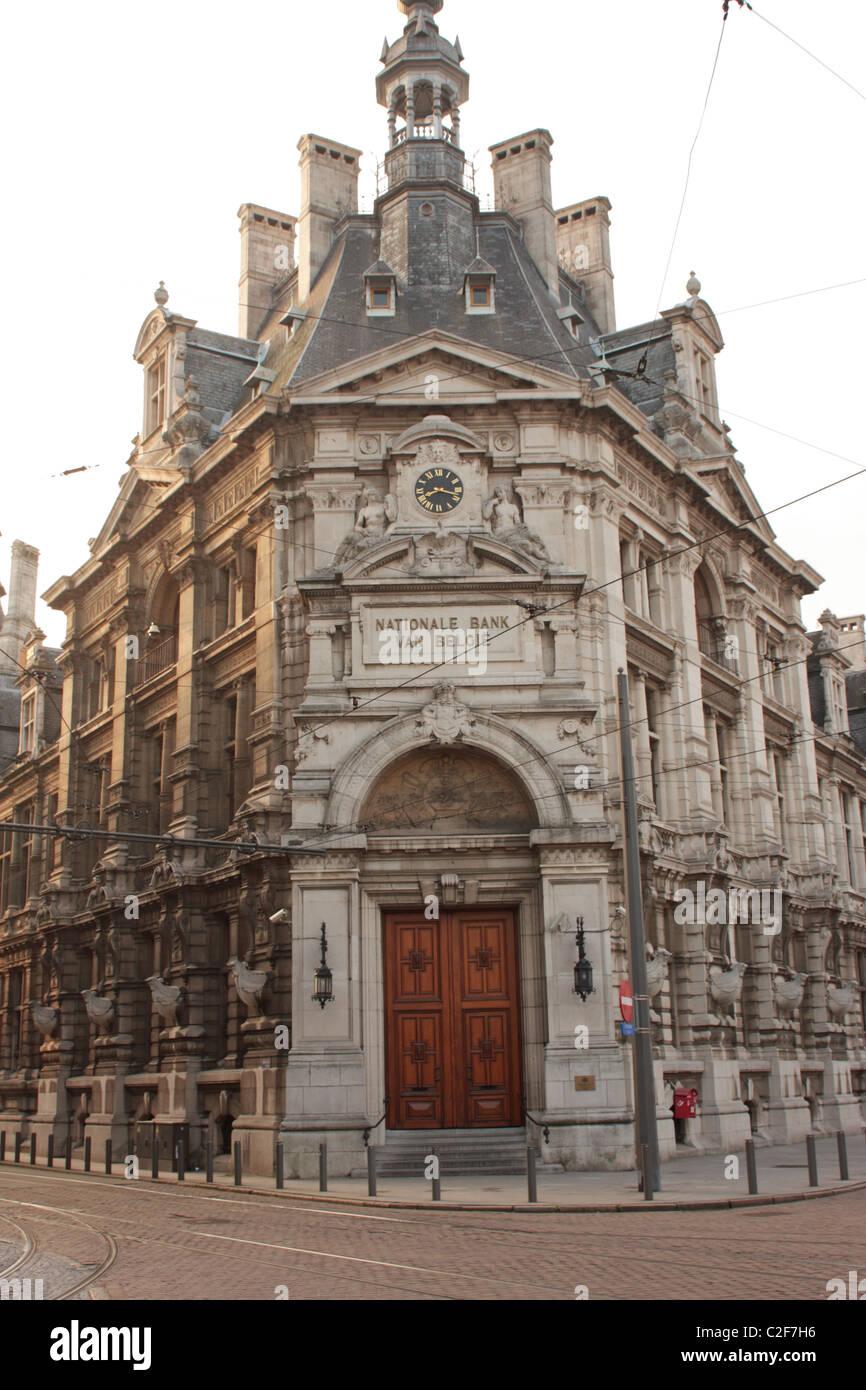National Bank van Belgie Antwerp Belgium Stock Photo