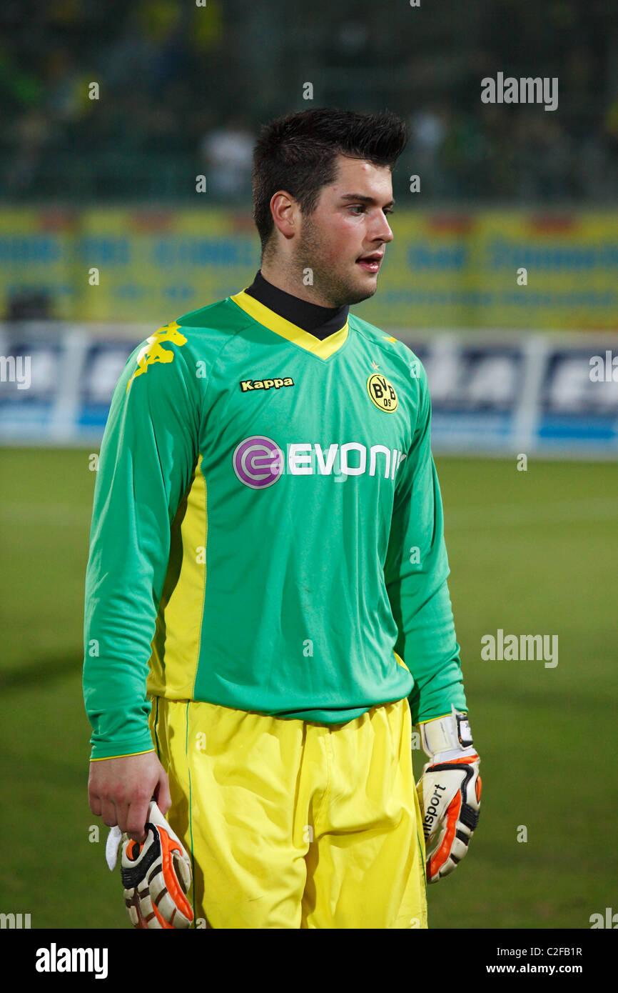 football goal keeper Zlatan Alomerovic (BVB), sports, football, Regionalliga West, Bundesliga, 2010/2011, friendly - Stock Image