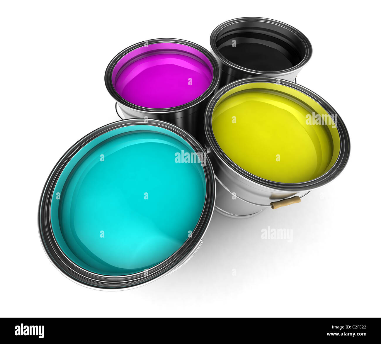 CMYK colors - Stock Image