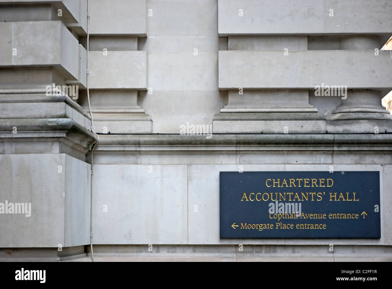 detail of the 1893 chartered accountants hall, city of london, england, designed by architect john belcher - Stock Image