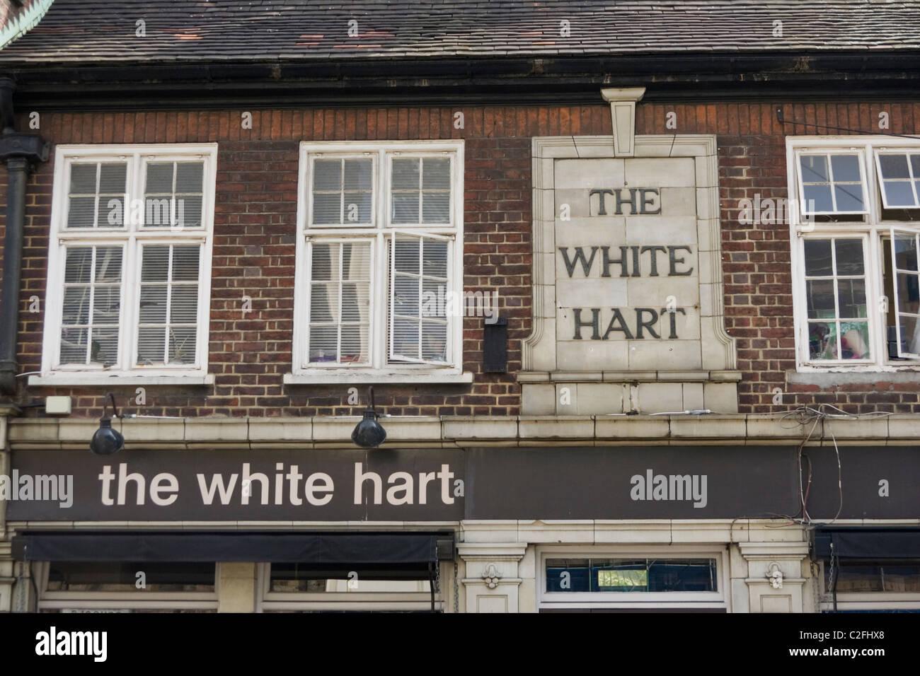 South London pub - Stock Image