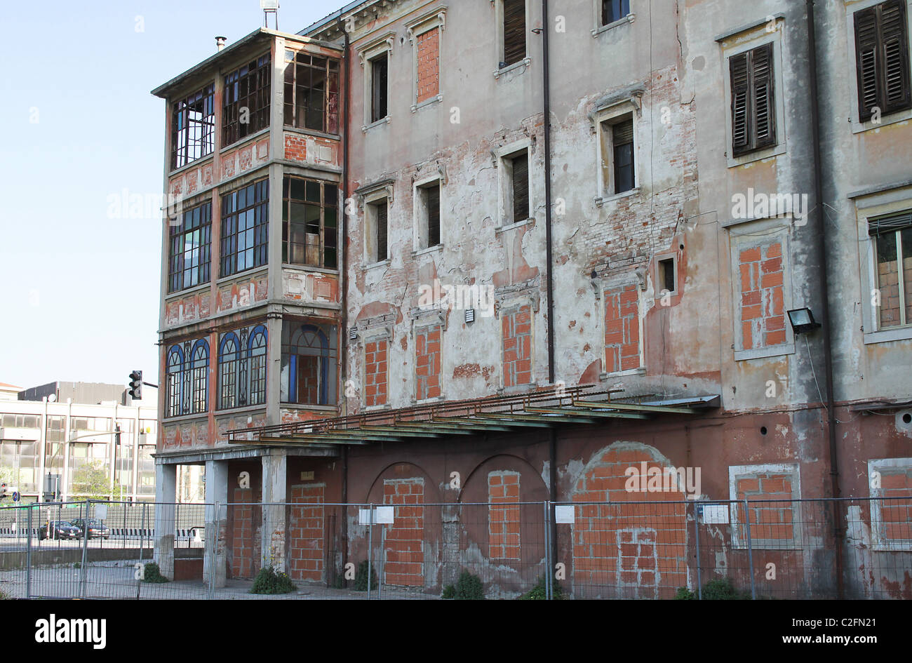 abandon building - Stock Image