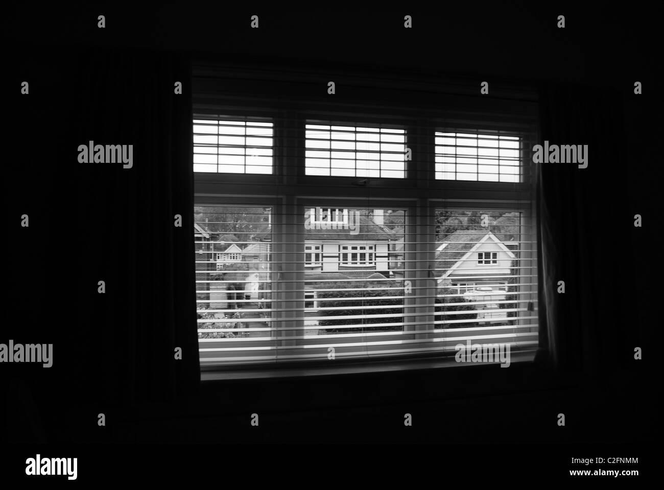 Venetian blinds - Stock Image