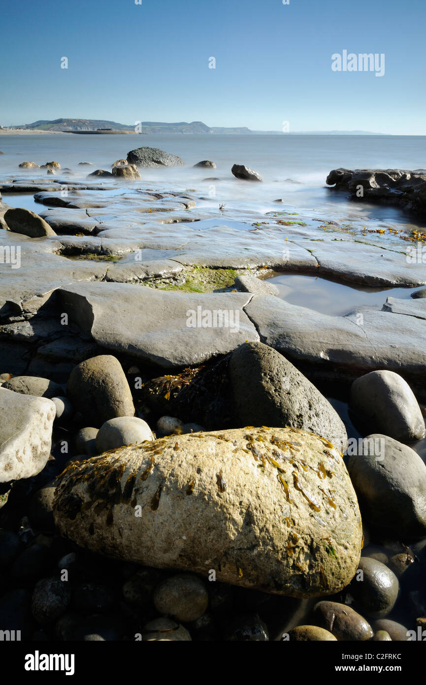 Lyme Regis Sand Beach