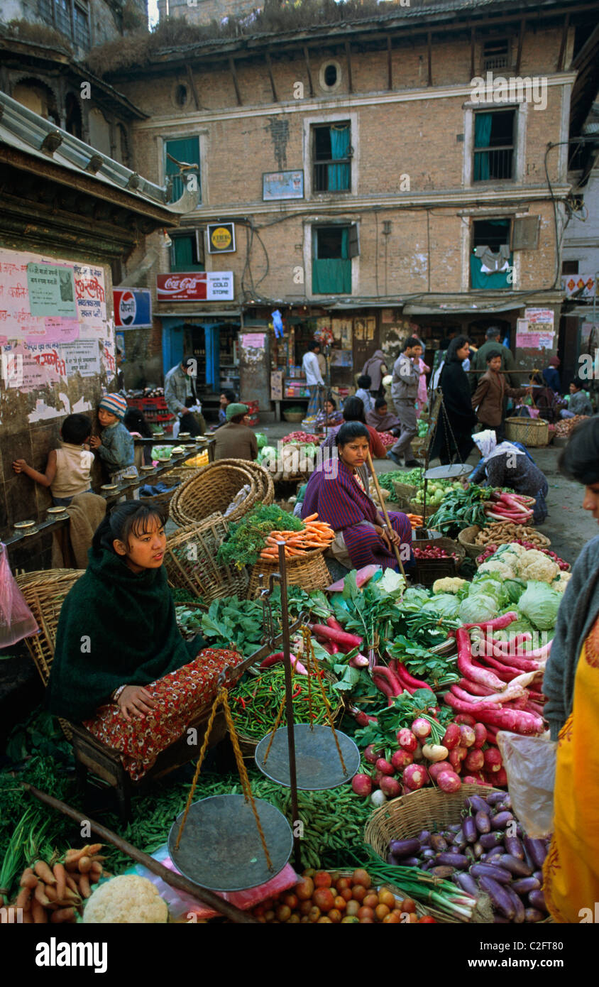 Kathmandhu  Nepal - Stock Image