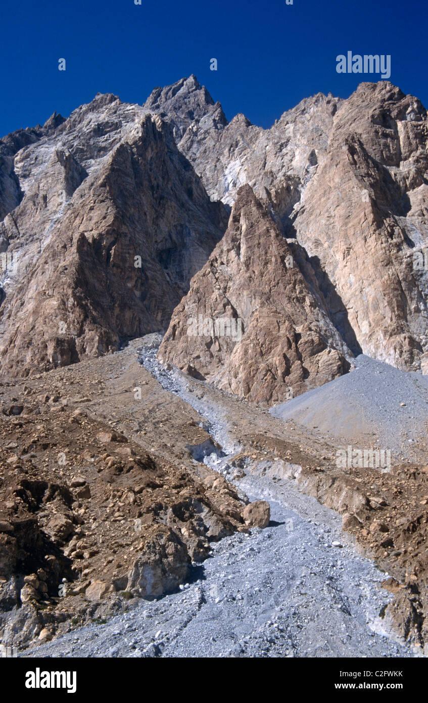 Passu Karakoram Pakistan - Stock Image
