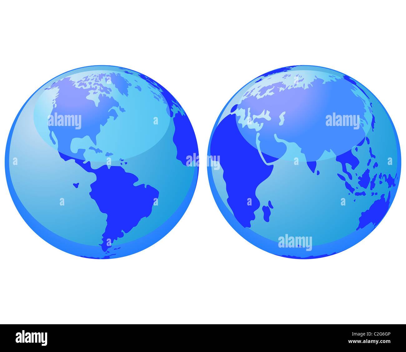 business background - Stock Image