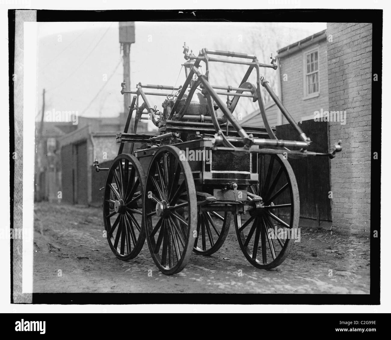 BABCOCK SELF-ACTING FIRE-ENGINE STEAM FIRE ENGINE PROTECTION FOR CITIES /& TOWNS