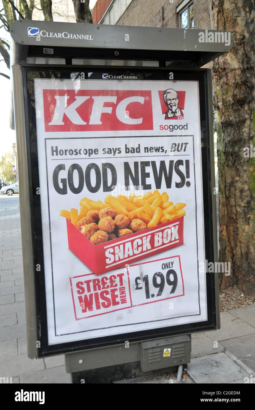 Kfc Kentucky Fried Chicken Advert Stock Photos & Kfc Kentucky Fried ...