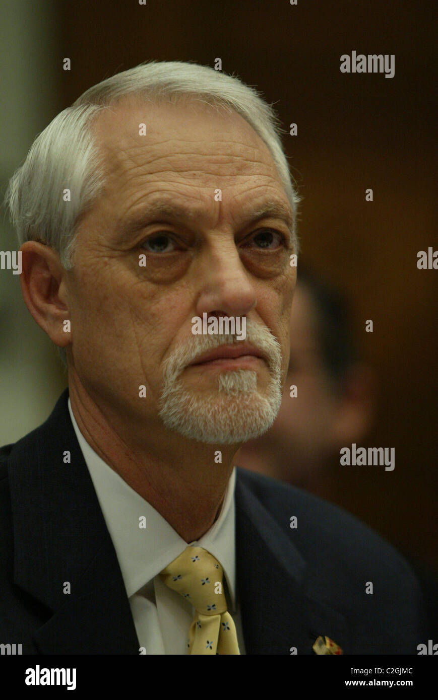 Leonard Skiles The House Financial Institutions and Consumer Credit Subcommittee held a hearing on ' Financial - Stock Image