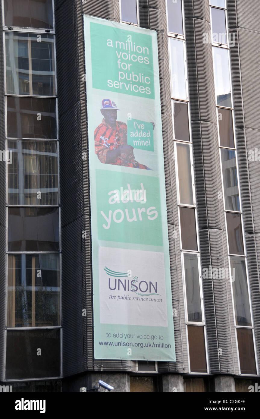 Unison Union Logo sign Trade Union representation industrial