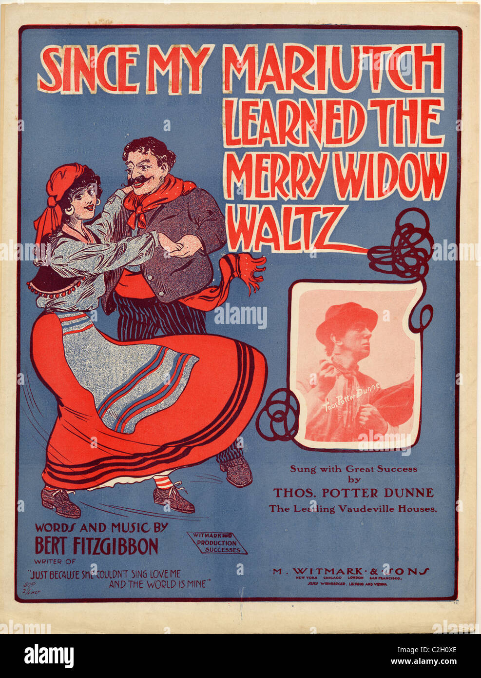 Since my Mariutch Learned the Merry Widow Waltz - Stock Image
