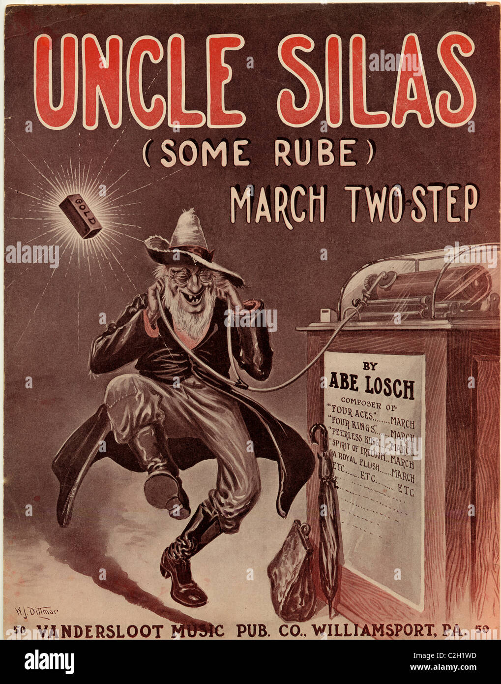 Uncle Silas, Some Rube - Stock Image