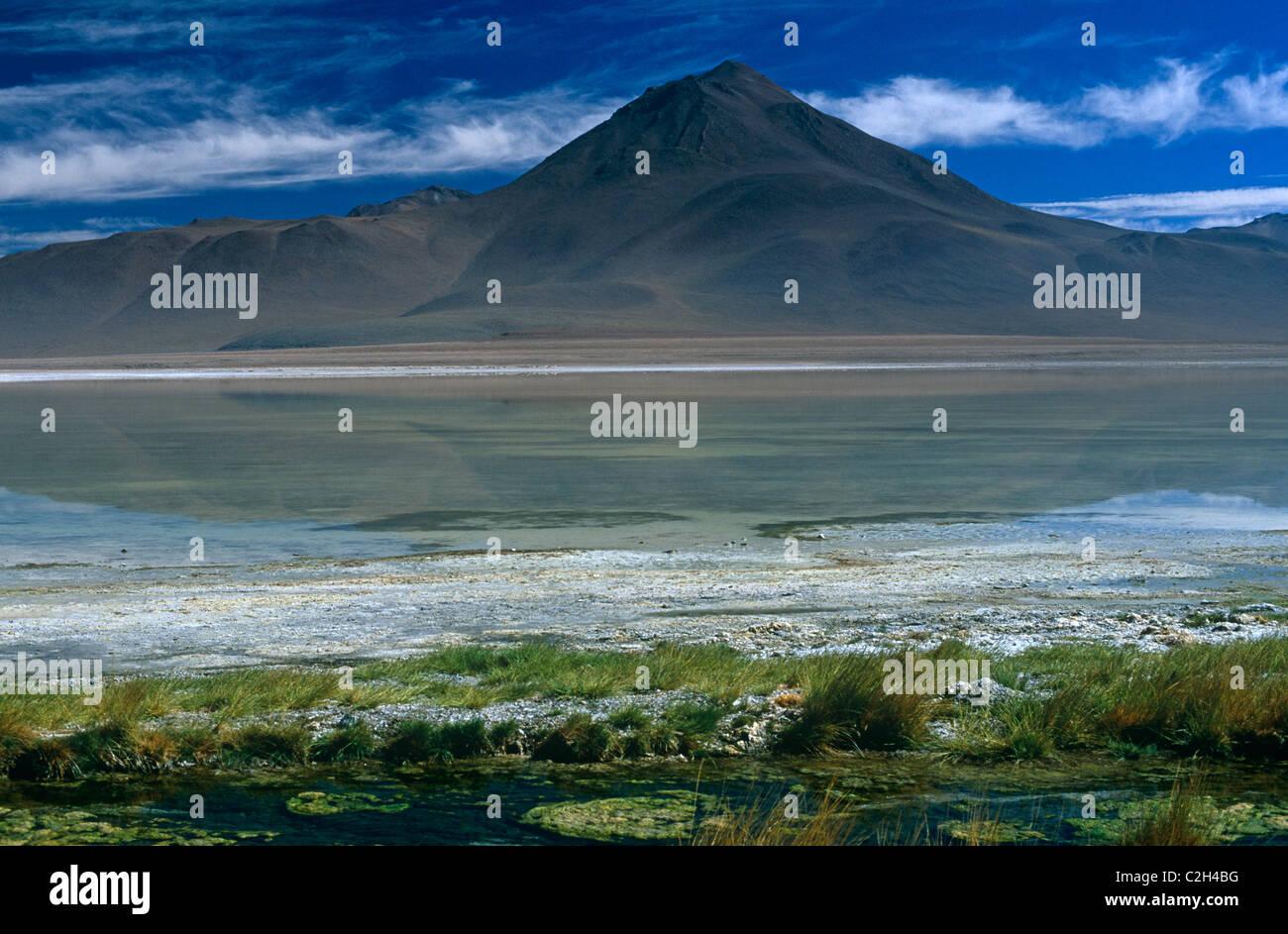 Salar De Uyuni Altiplano Bolivia - Stock Image