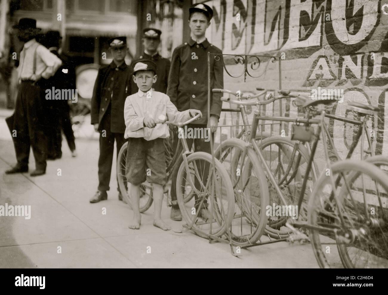 Danville Virginia Messengers. - Stock Image
