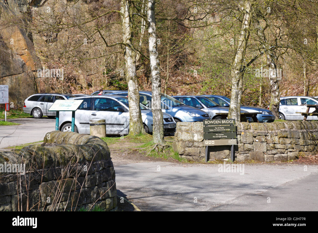 Bowden Bridge Peak District National Park Car Park