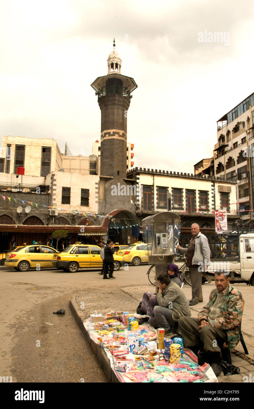 Homs Syria Syrian Old Middle East  Town City - Stock Image