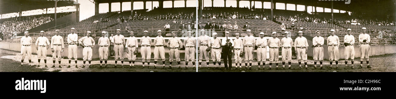 Boston Red Sox, American League, Aug. 19, 1914 - Stock Image