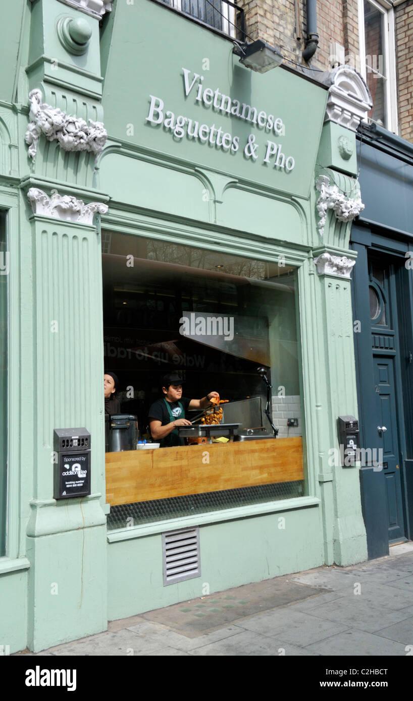 London Vietnamese Restaurant Stock Photos & London Vietnamese ...