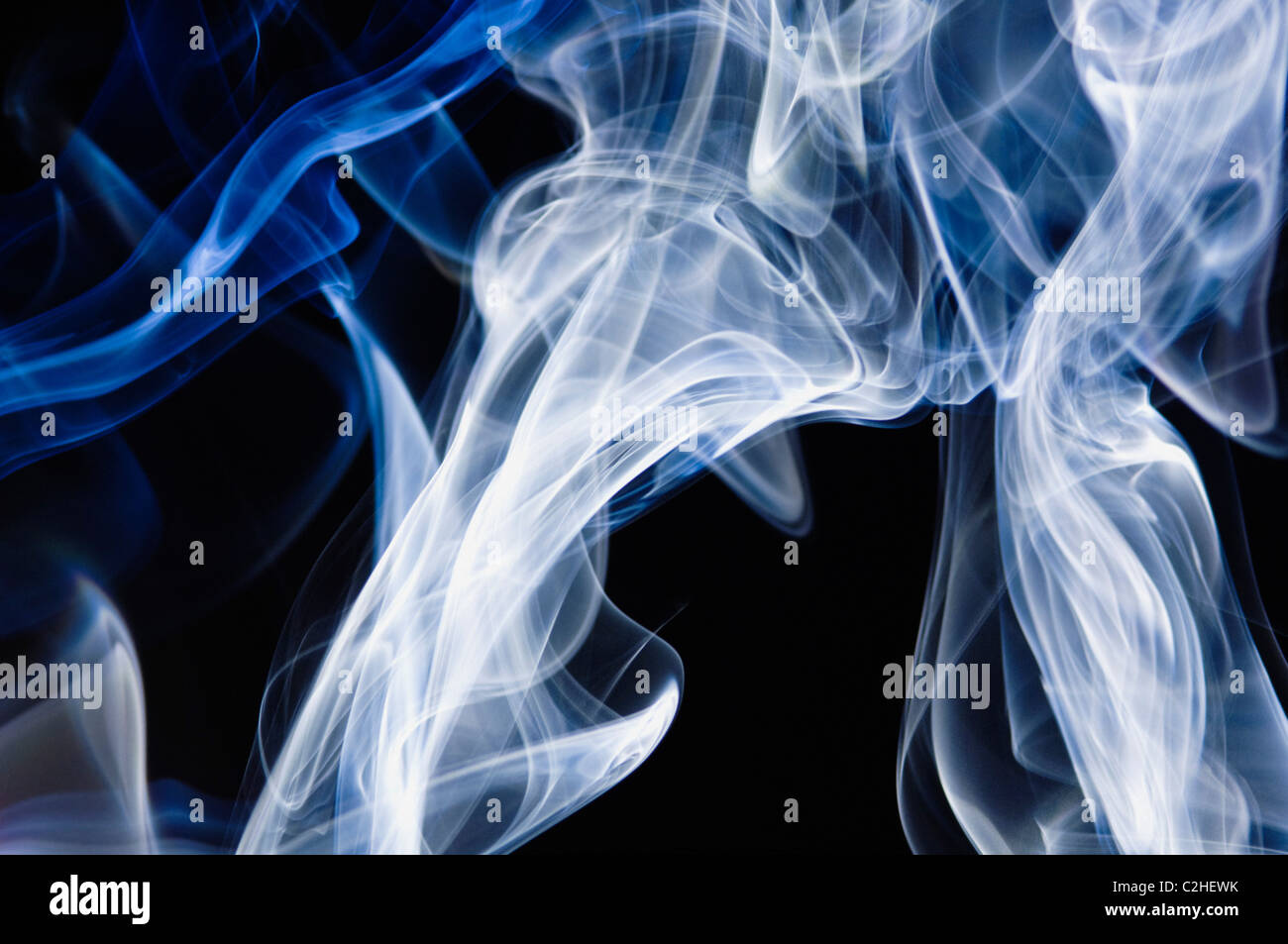 Smoke Patterns - Stock Image