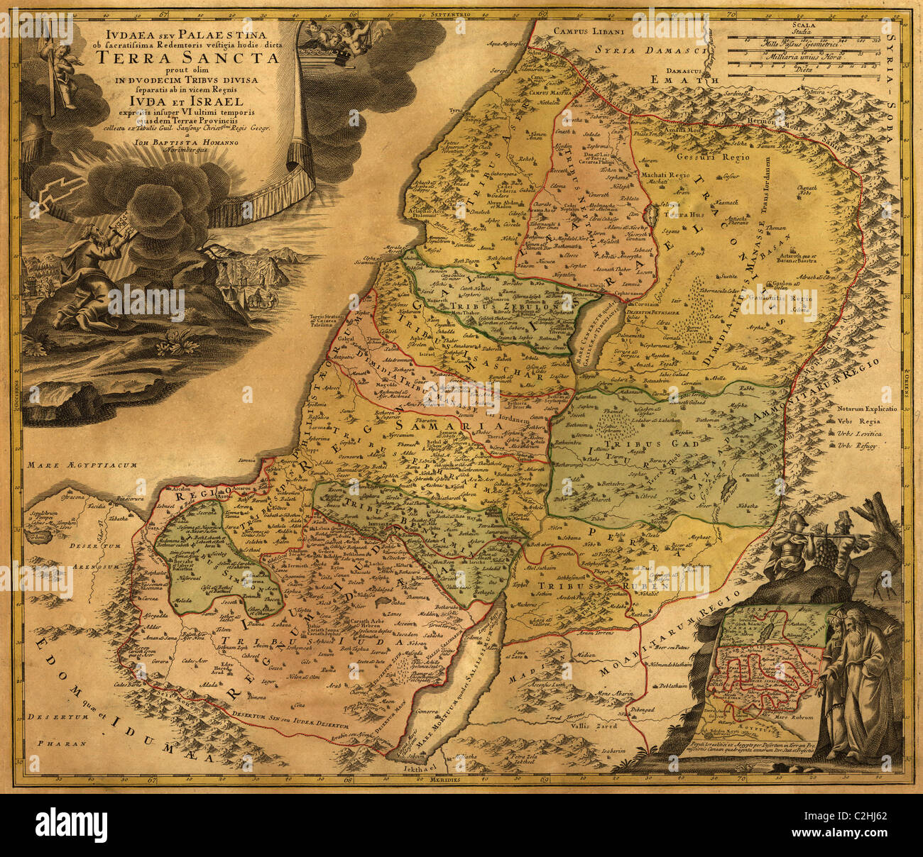 Judea & Palestine Ancient - Stock Image