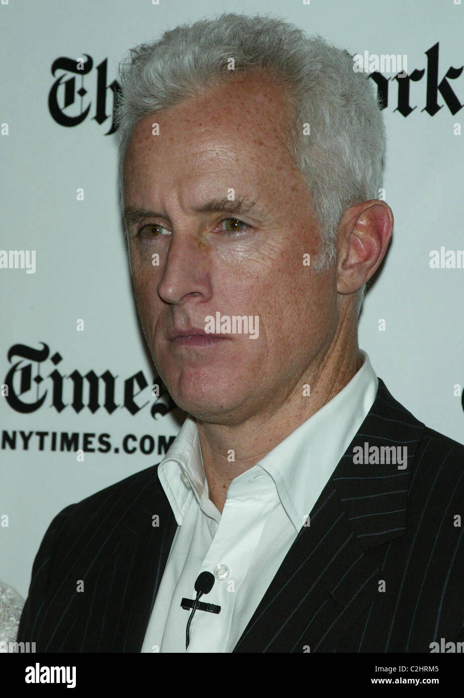 John Slattery The New York Times Arts & Leisure Week: