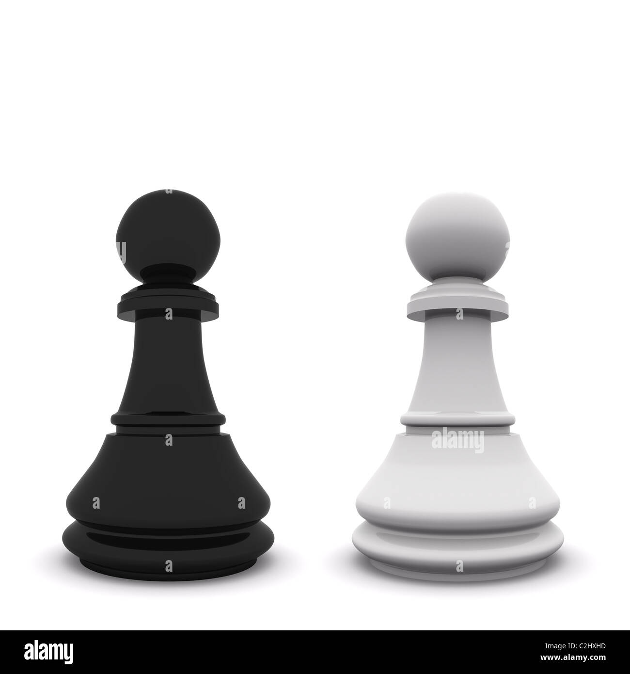 pawns - Stock Image