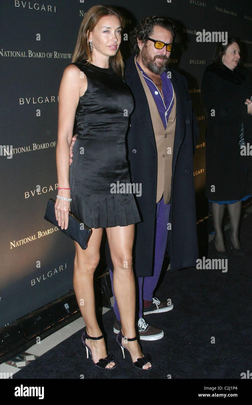 Julian Schnabel and wife Olatz Lopez Garmendia 2008 ...  Julian Schnabel...