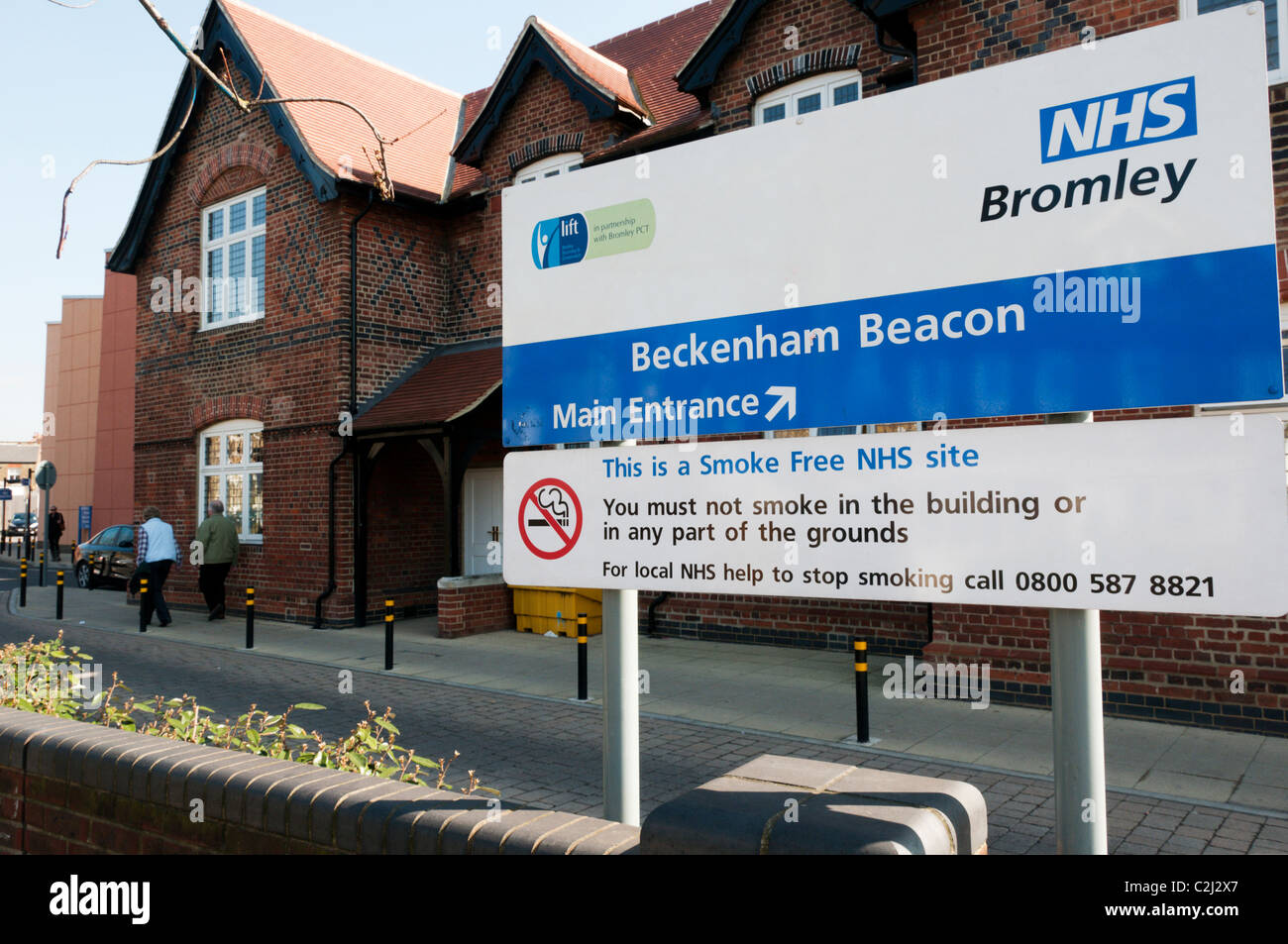 The Beckenham Beacon minor injuries unit and outpatients clinic in the South London Healthcare Trust area. - Stock Image