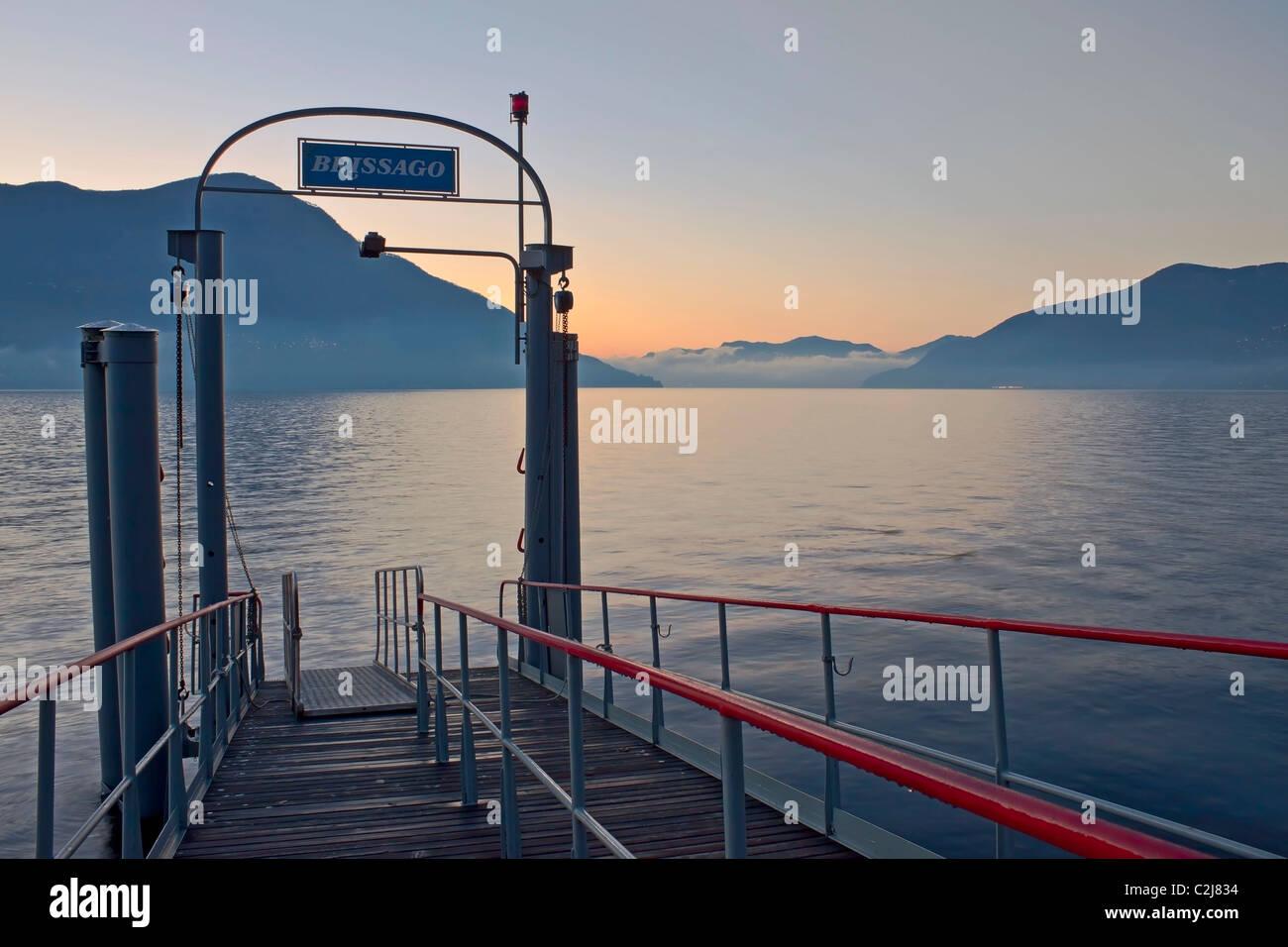 Brissago - Ticino - Switzerland - Lake Maggiore - Stock Image
