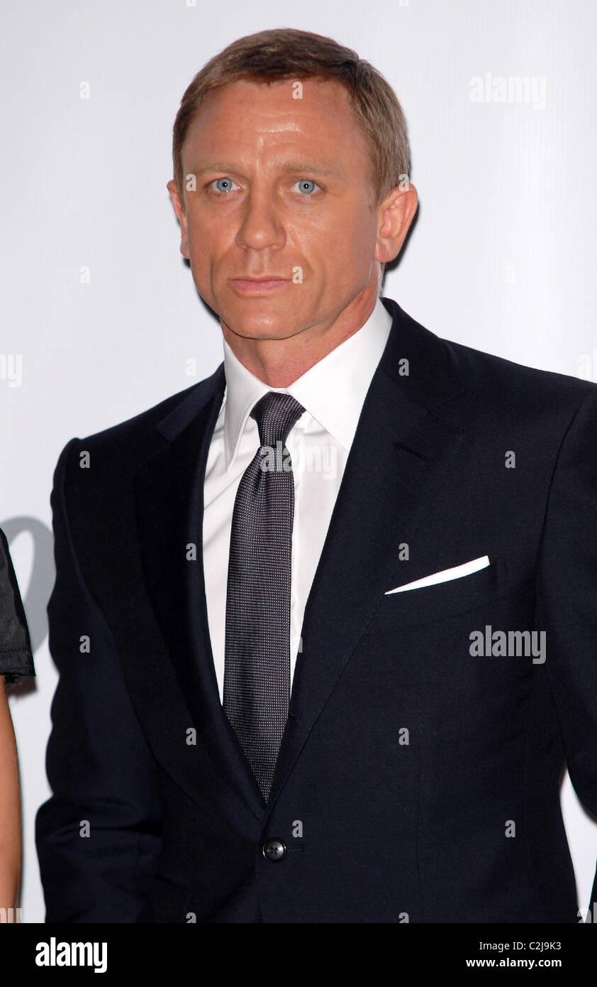 3d54aa7cb4 Daniel Craig James Bond 007 Photocall for  Quantum Of Solace  London  England - 24.01.08