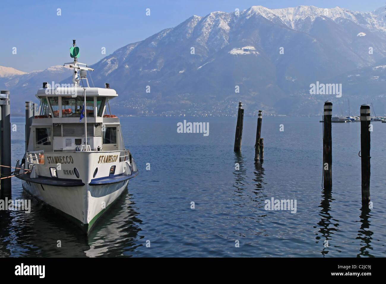 Locarno, Lake Maggiore, Ticino, Switzerland - Stock Image