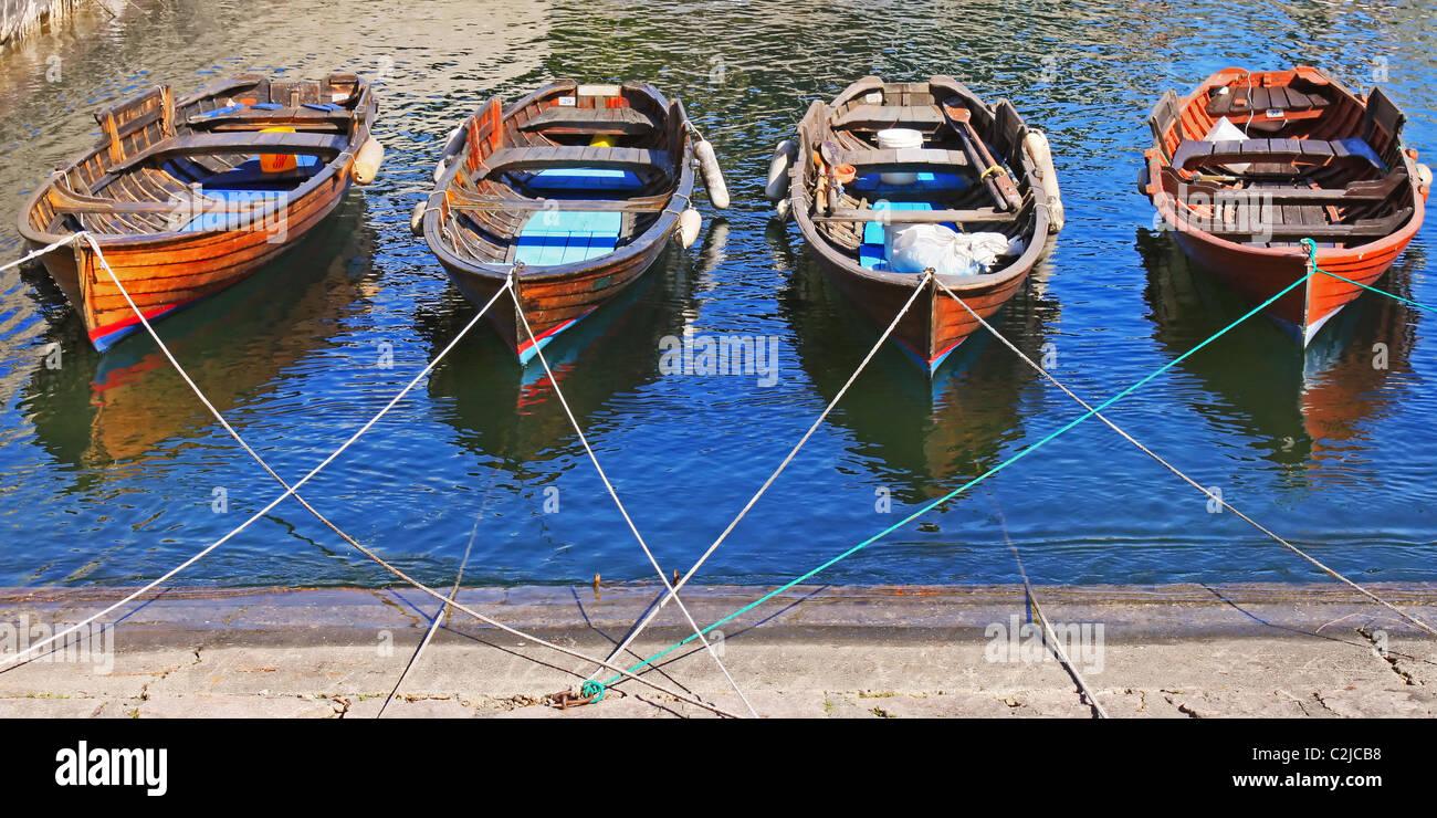 Cannobio - Lake Maggiore - Italy - Stock Image