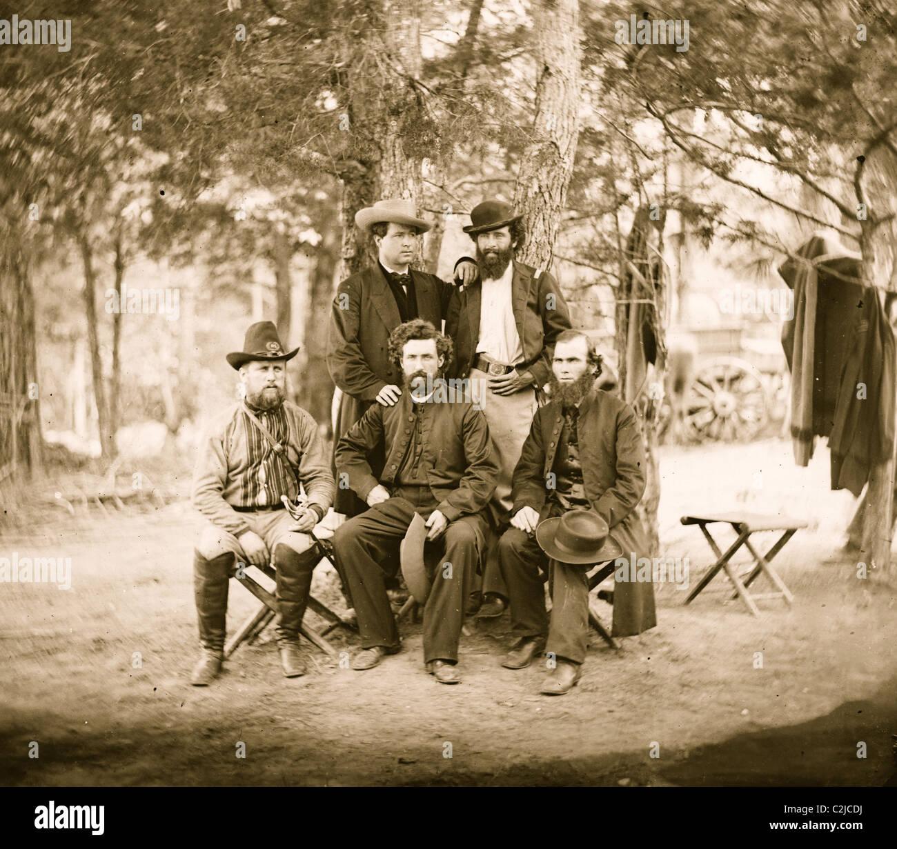 Men of the Irish Brigade - Stock Image
