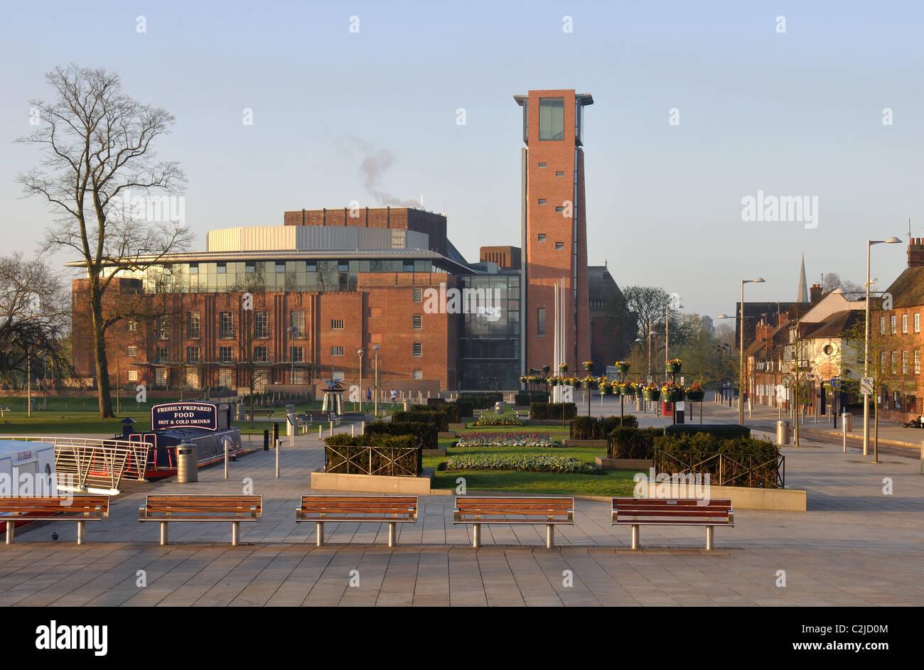 Rsc Theatre Waterside Stratford Upon Avon Stock Photos & Rsc Theatre ...