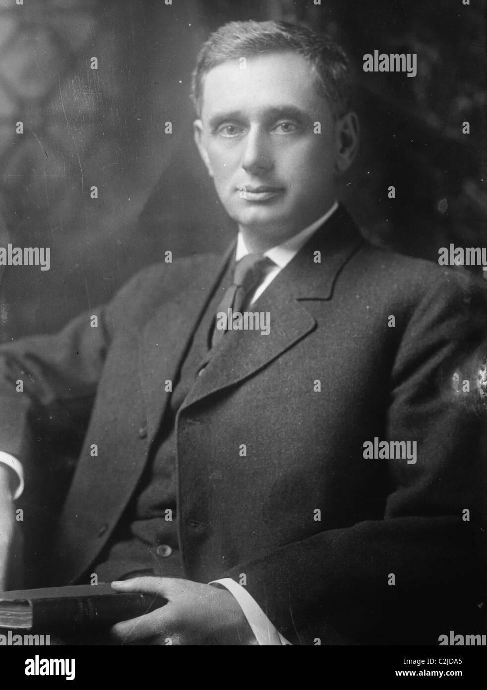 Portrait of Louis D. Brandeis - Stock Image